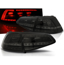 Pilotos Traseros Led Vw Golf 7 13- Ahumado Led Gti Look